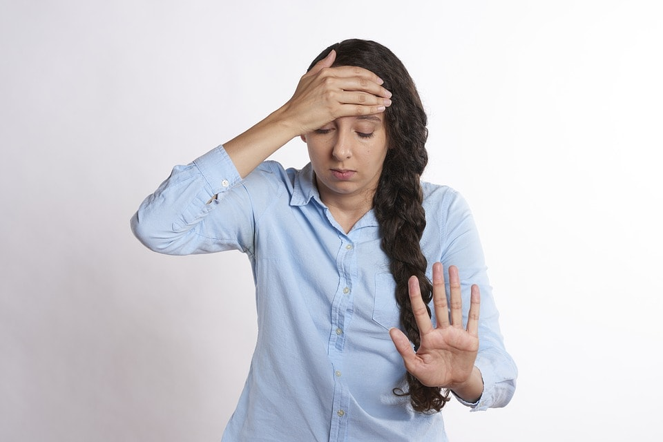 A Pregnant Woman Feeling Stress, During Pregnancy